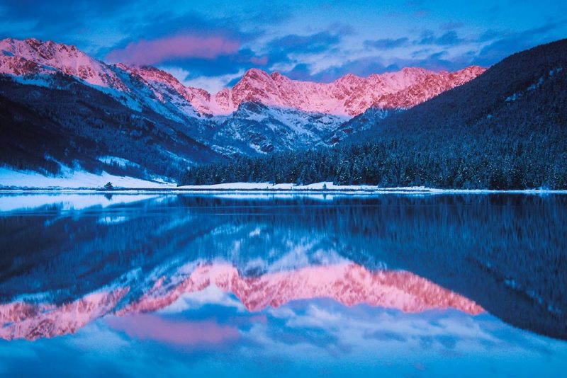 Alpenglow Reflection