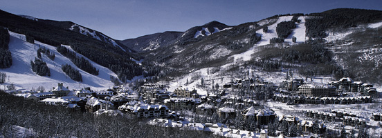 Vail_Beaver Creek in Winter - Poster