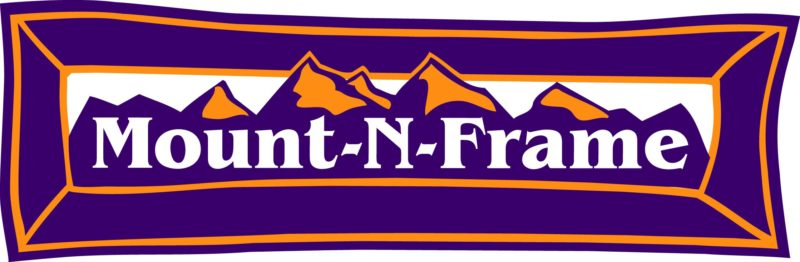 Mount-N-Frame framing and Vail Colorado Mountain prints