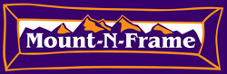 logo MountNFrame Vail Colorado Prints and Framing