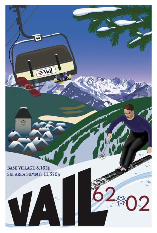 40th Anniversary - Vail Vista Bahn