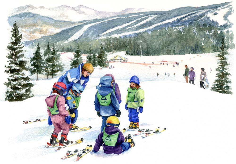 Ski School Superstars   Mount-N-Frame