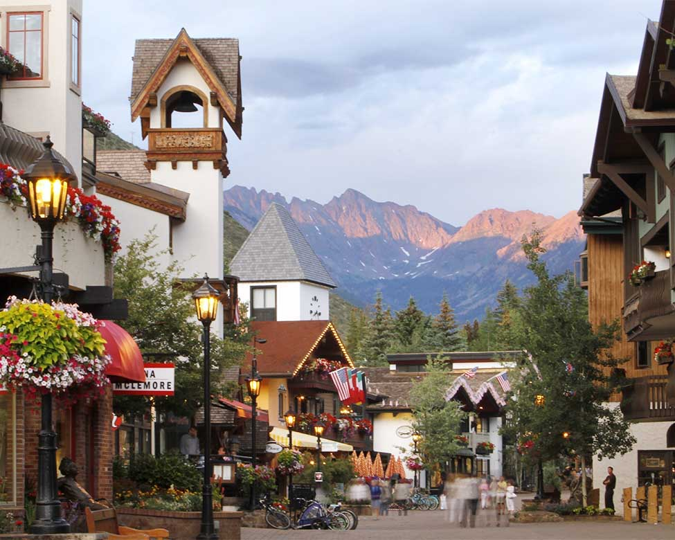 how to get to vail colorado